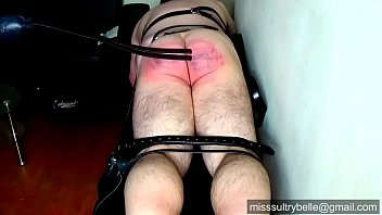 Miss Sultrybell e Tawsing And Strapping Wellta trapping Welltawsed