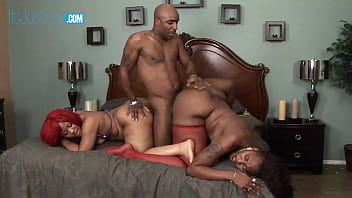 Luscious Louis and Ms Cleo Share A Nice Black Cock