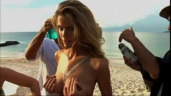 Nude body painting brooklyn decker