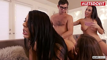 SCAM ANGELS - #Gina Valentina #Karlee Grey #Maddy O'Reilly #Logan Long - Girls! Let's Fuck This Lawyer!