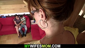 Caught husband with dildo Cheating with horny mommy