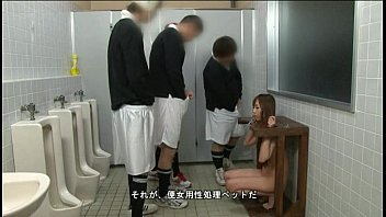 Japanese whore installed in the toilets