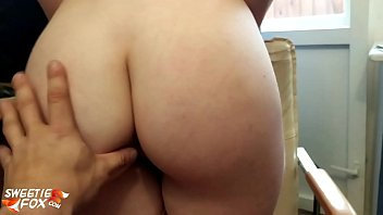 Babe Blowjob Dick Muscular Guy and Hardcore Sex after Reading