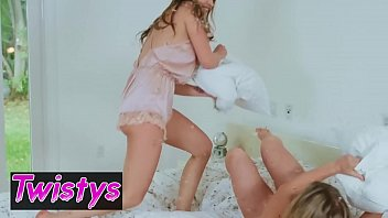 When Girls Play - (Quinn Wilde, Zoey Taylor) - Pillow Fight - Twistys