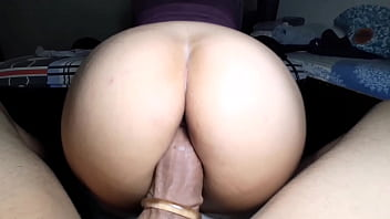 Dude, I just pulled down your girlfriend's pants and panties and she made the rest with my giant cock.