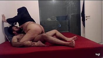 AMATEUR BIG ASS PREGNANT HIJAB MOM RIDES HER HUSBAND'S COCK- HOMEMADE SEX preview image