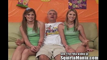 Dualing Porn Star Squirting Twin Sisters!  funny porn videos pirn hub