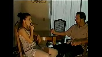 Curious brunette nymphos Violet is fond of smoking cigar while her teacher is whistle in the dark