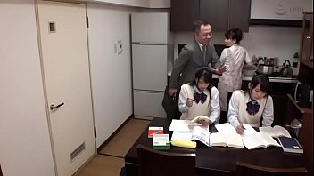 japanese father fuck his teen daughters