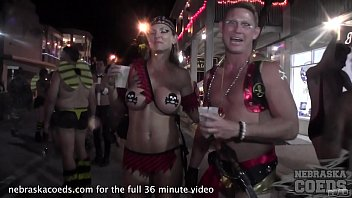pimp and ho party and contest with full nude girls fantasy fest key west