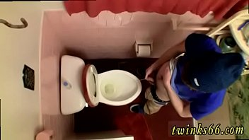 Nude males fucking and pissing gay Unloading In The Toilet Bowl