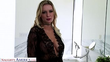 Naughty America Kenzie Taylor gets fucked as husband watches