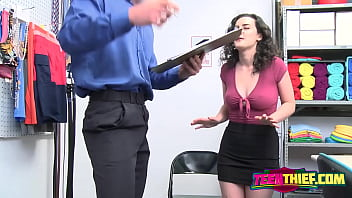 Security guard fucks a hairy pussy