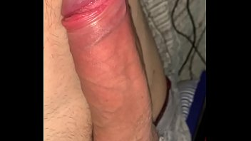 Massive cumshot handsfree orgasm