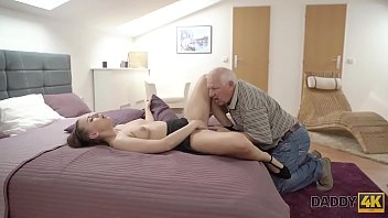 DADDY4K. Hot Ornella cant resist sexual charms of seasoned old male