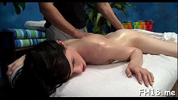 Playful maiden Selena Knight bounces on hard lever