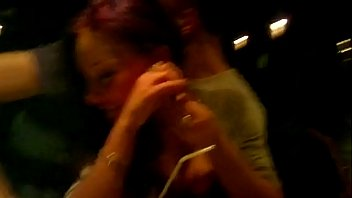 d. Chick Getting Finger Blasted at a Bar 52 sec