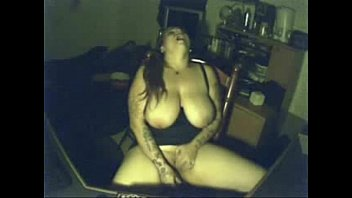 Hidden cam catches my kinky mum having fun at PC