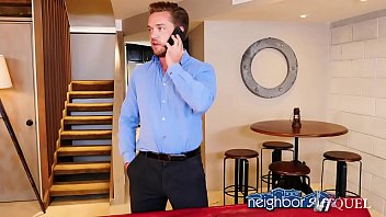 Nosey neighbor gets a big dick in her face! Naughty America thumbnail