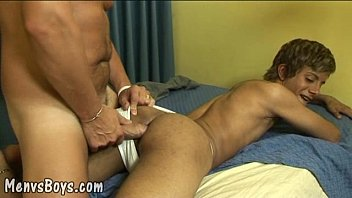 Old gay love - Twink pleasures fat meat first thing in morning