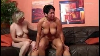 Two Hot MILFs Sharing an Old Man