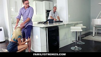 FamilyStrokes - Cutie (Tiffany Watson) Fucks Her Step-Cousin While Uncle Works