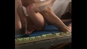 Stretching Out My Married Co Workers Pussy