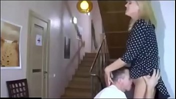 Beautiful Russian mom fucking with son