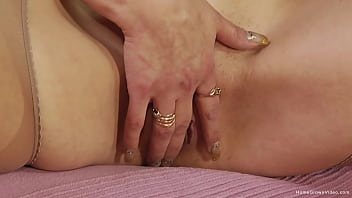 Blonde with big plump tits gets fucked by a thick cock