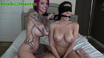 Anna Bell Peaks Blindfolds Rachel Starr And Fucks Her Silly