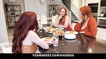 Lucky Boyfriend Has Sex With His GF's (Aria Carson) Two Hot Milf Moms (Lauren Phillips) (Summer Hart) - Ginger Patch
