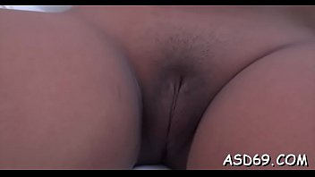 Missionary position vid - Curvaceous oriental bitch gets screwed in various positions