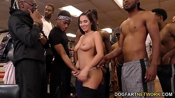 Xxx squirting gangbang deepthroat Karlee grey deepthroats bbc while squirting