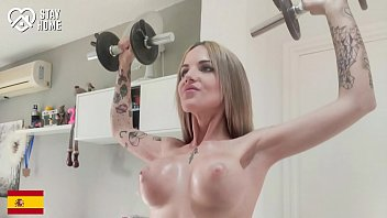 Streaming Video DOEGIRLS - #Baby Ink - Fiery Spanish MILF Hot Homemade Solo Play After Daily Workout - XLXX.video