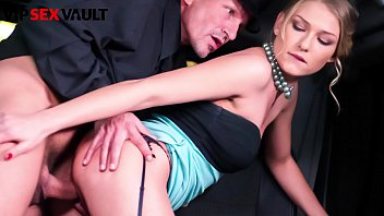 VIP SEX VAULT - #Lucy Heart - Classy Russian Business Woman Backseat Fun With The Old Uber Driver