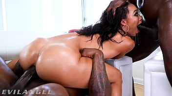 EvilAngel - Anal Beauty Alexis Tae's First Ever DP!