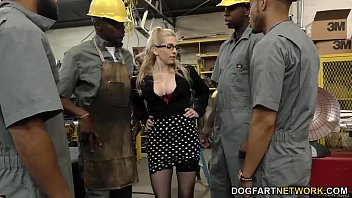 Big dicks going anal - Busty blonde christie stevens gets anal from big black cocks