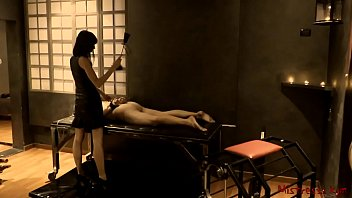 Male bdsm story Femdom whipping male slave in a dungeon - mistress kym