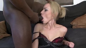 Russian MILF gets blackmailed into anal W/ BBC for green card