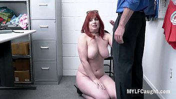 Redhead MILF Didn't Think Cop Would Inspect Her Ass- Amber Dawn