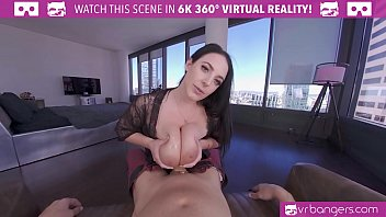 VRBangers Angela White Takes a Big Dick between Her Big boobs