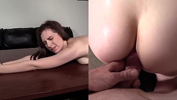 Skinny 19yo Raven Gets Her Butt Plugged And Loves Sucking That Dick! 10分钟