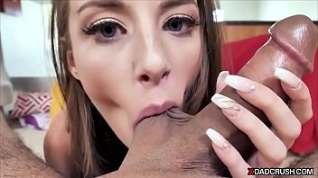 Stepdaughter caught on sex cam site by horny stepdad
