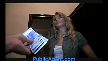 Halia fucked had 18 Publicagent sophia fucks me for money