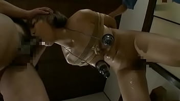 Asian Girl Plays With Nipple Toy 3 - BDSM