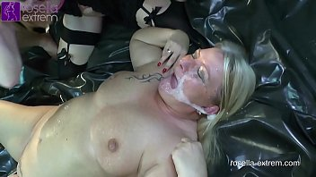 Extreme cum swallowing by milfs Unique, kinky, extreme pervert 2 mega dirty sluts in action