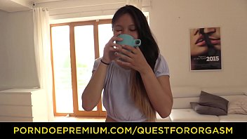 QUEST FOR ORGASM - Asian teen beauty May Thai in for erotic orgasm with vibrators