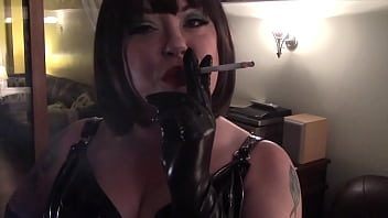 Serve Your Mistress By Being Her Smoke Slave