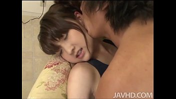 After Having Her Body Suit Cut Off Of Her Shiori Uta Finds Her Mouth Filled With