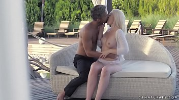 Blonde babe and her lover's big dick - Lovisa Fate, Lutro 6 min